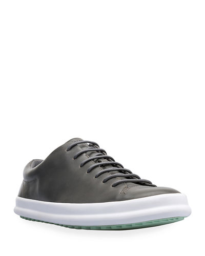 Men's Chasis Spot Leather Low-Top Sport Sneakers