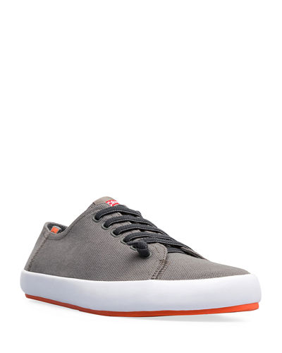 Men's Peu Rambla Canvas Low-Top Sneakers