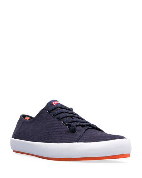 Camper Men's Peu Rambla Canvas Low-Top Sneakers