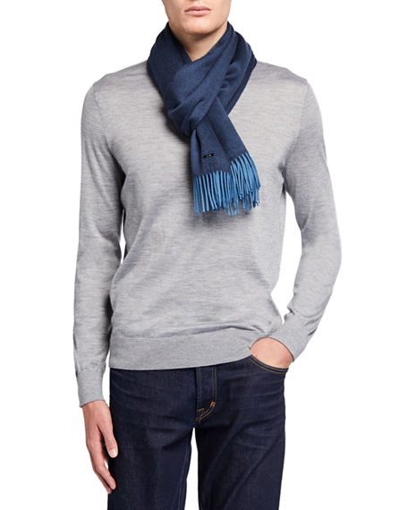 Loro Piana Men's Elite Cashmere Scarf