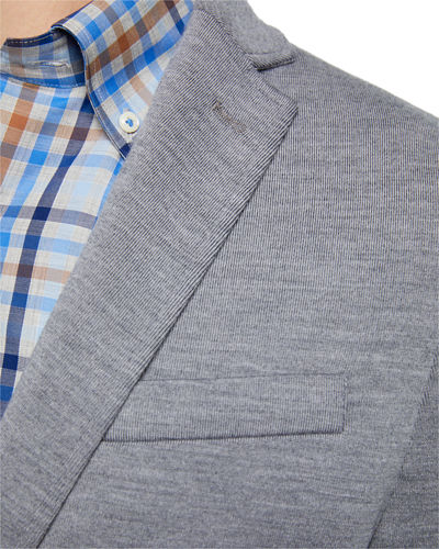 Peter Millar Men's Heathered Two-Button Jacket