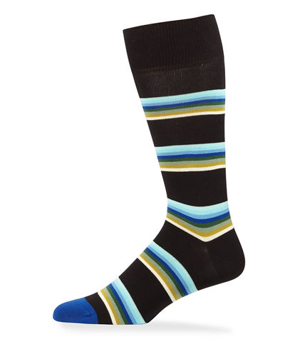 Men's Lion Stripe Knit Socks
