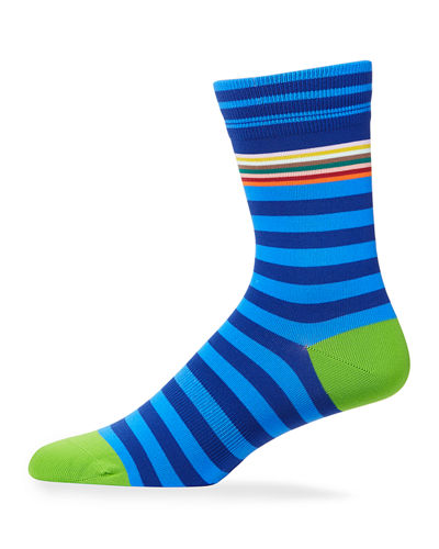 Men's Striped Knit Socks