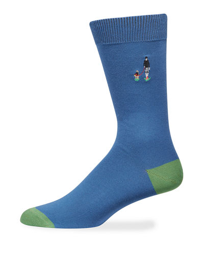 Paul Smith Men's London Park Knit Socks