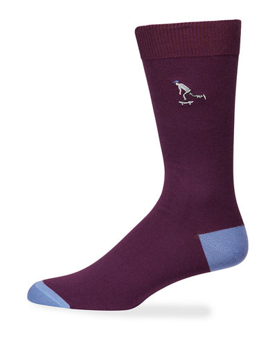 Men's London Park Knit Socks