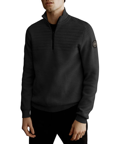 Men's Clarke Quarter-Zip Sweater