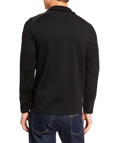 Canada Goose MEn's Stormont Quarter-Zip Sweater