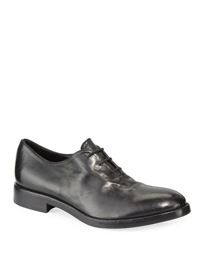 Men's Chase Leather Lace-Up Oxfords
