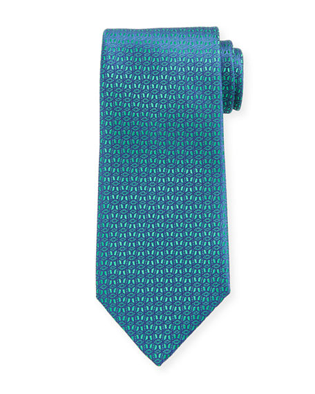 Charvet Men's Medium Neat Silk Tie