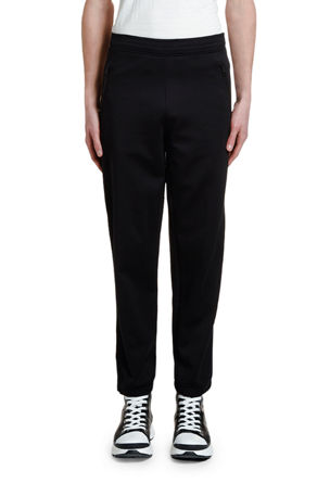 Neil Barrett Men's Double-Stripe Jogger Pants