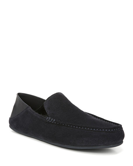 Vince Men's Gino Suede Leather Loafers