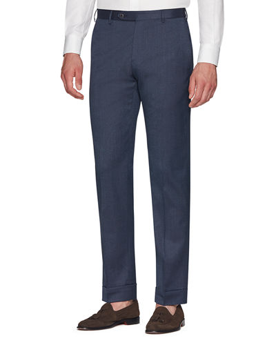 Men's Parker Covert-Stretch Twill Trousers