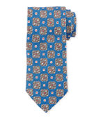 Eton Square Medallion Silk Tie