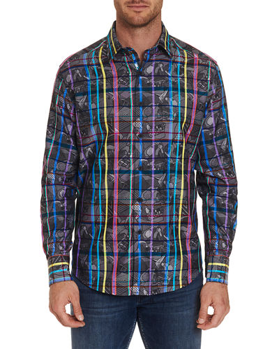 Men's Augustine Graphic Sport Shirt
