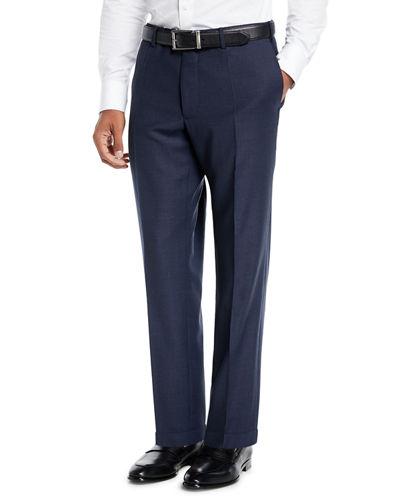 Benson Five-Pocket Standard-Fit Techno Wool Trousers