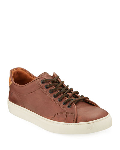 Men's Walker Leather Low-top Sneakers