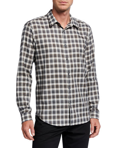 Men's Irving Betton Check Sport Shirt