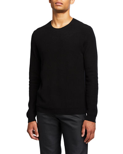 Men's Medin Solid Cashmere Crewneck Sweater
