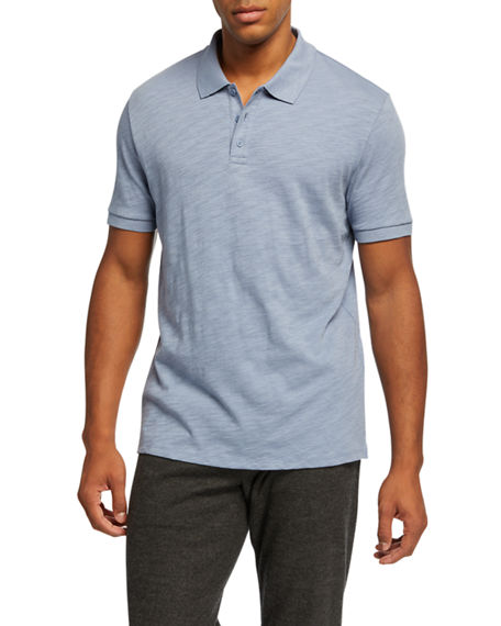 Image 1 of 2: Vince Men's Classic Jersey Polo Shirt