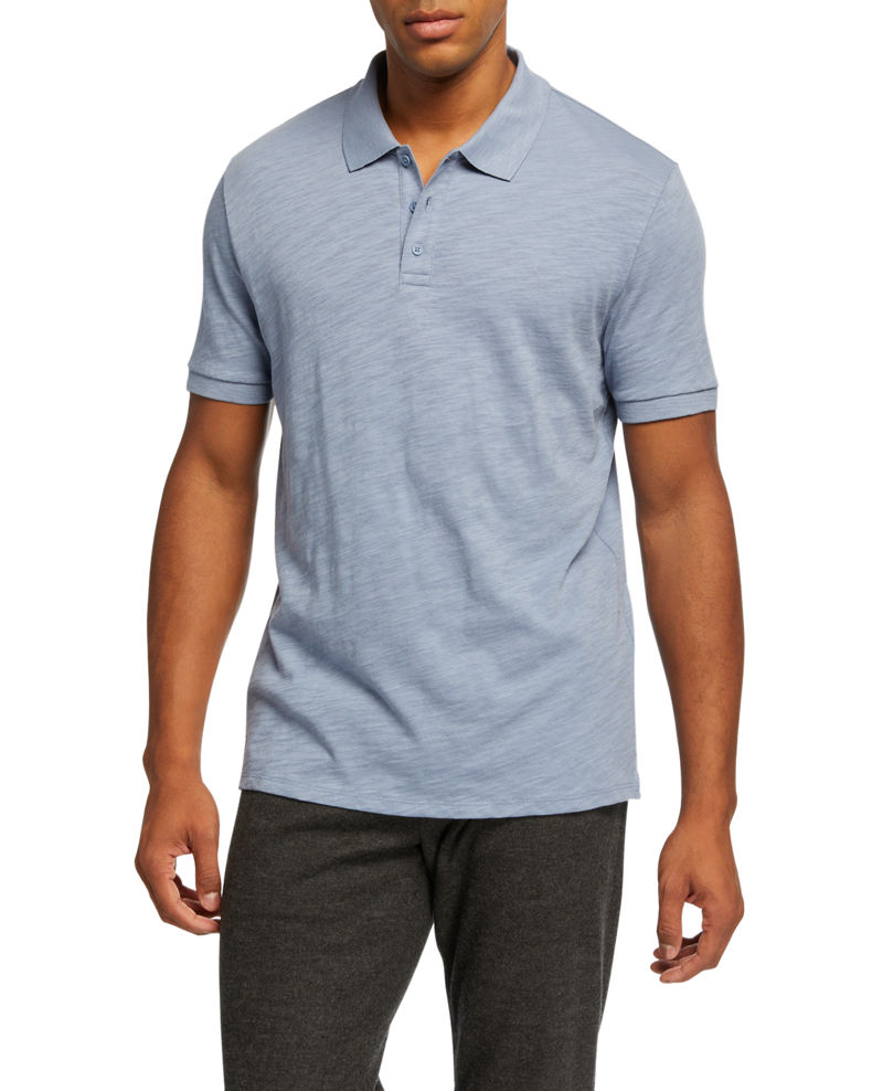 Vince Men's Classic Jersey Polo Shirt