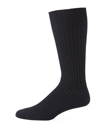 TOM FORD Men's Thick-Knit Casual Socks