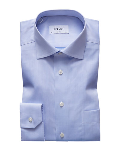 Men's Classic-Fit Twill Dress Shirt