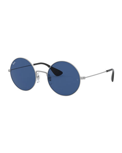 Ray-Ban Men's Round Slim Metal Sunglasses