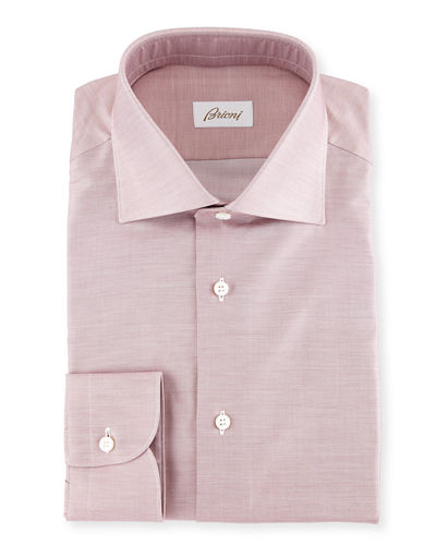 Chambray Cotton Dress Shirt