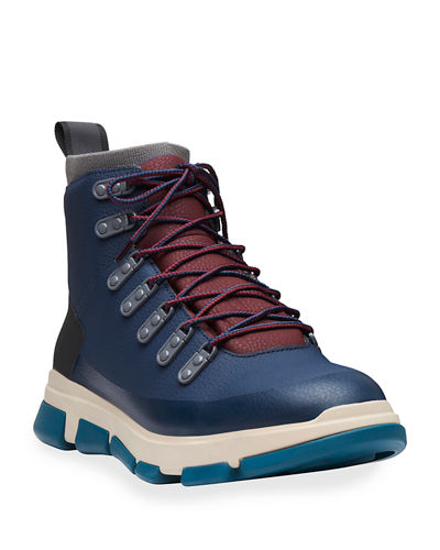 Men's City Leather Hiker Boots