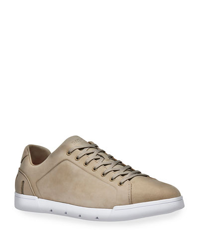Men's Breeze Leather Low-Top Sneakers