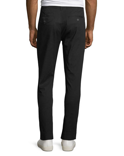 ATM Anthony Thomas Melillo Men's Slim Enzyme-Washed Stretch-Canvas Pants