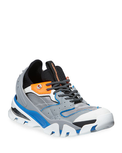 Men's Carlos 10 Leather Trainer Sneakers