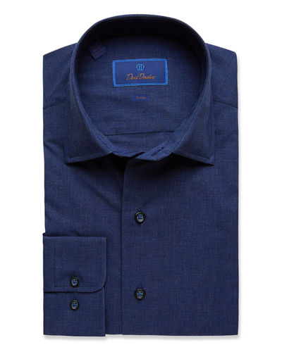 Men's Trim-Fit Fusion Dress Shirt