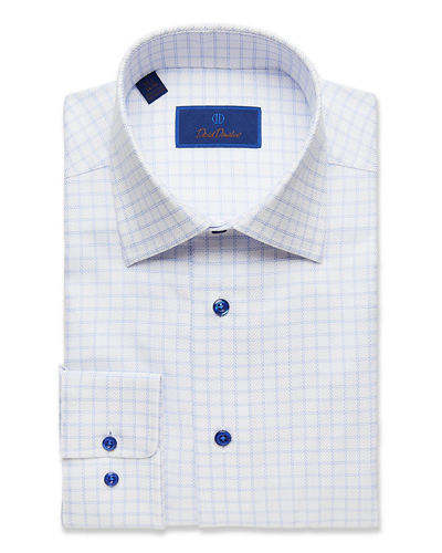 Men's Regular-Fit Check Dress Shirt