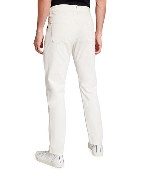 Image 2 of 3: AG Adriano Goldschmied Men's Tellis Modern Slim Sud Twill Pants