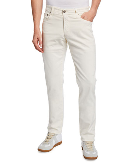 Image 1 of 3: AG Adriano Goldschmied Men's Tellis Modern Slim Sud Twill Pants