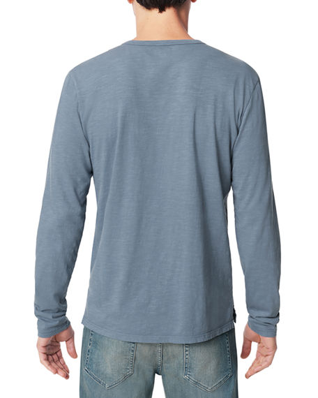 Image 2 of 3: Joe's Jeans Men's Slub Henley T-Shirt