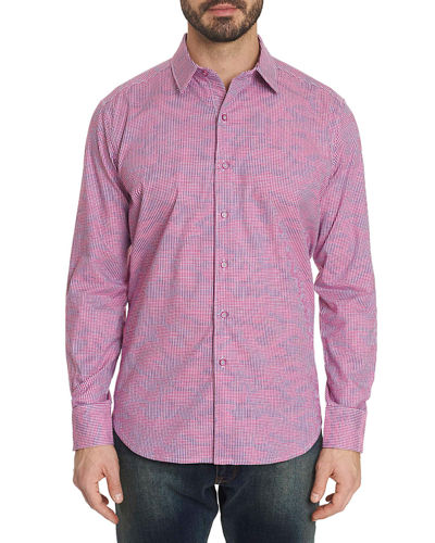 Robert Graham Men's Orson Graphic Sport Shirt