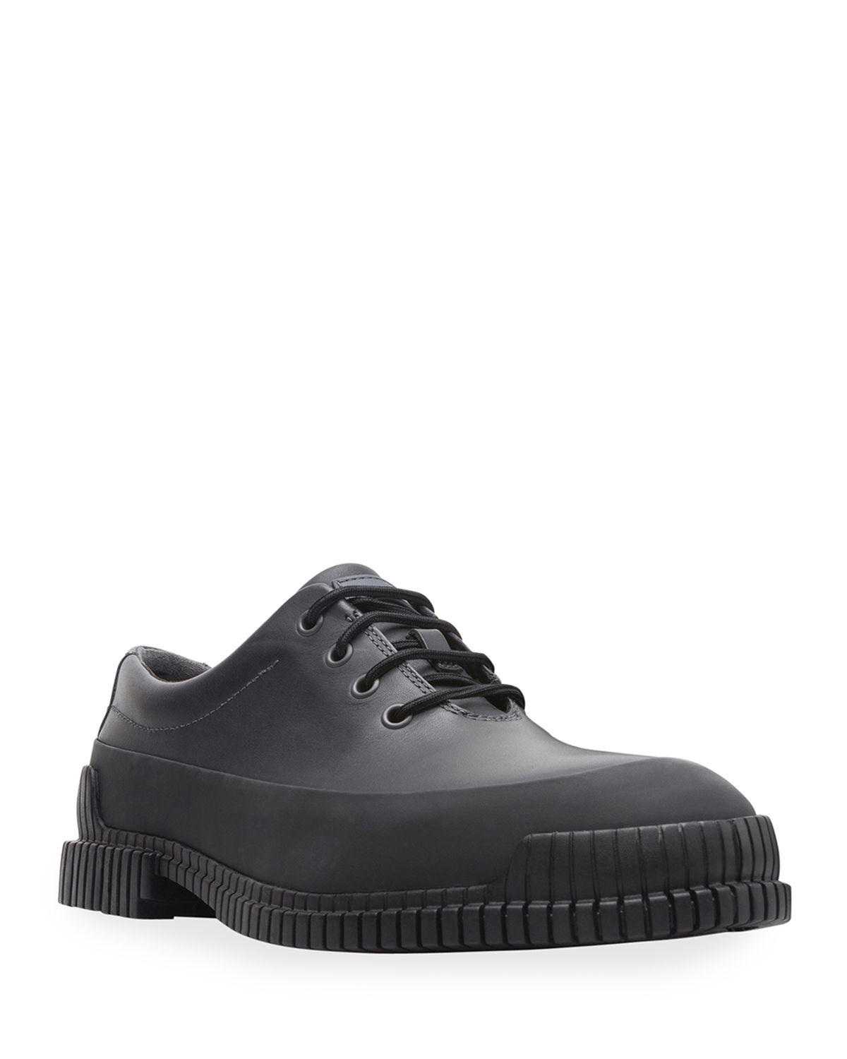 Men's Pix Lightweight Two-Tone Leather Lace-Up Shoes