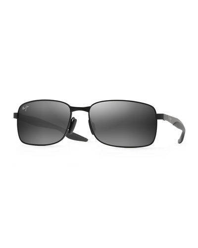 Maui Jim Men's Shoal Polarized Metal Sunglasses
