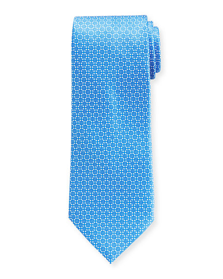 Stefano Ricci Men's Circle-Print Silk Tie