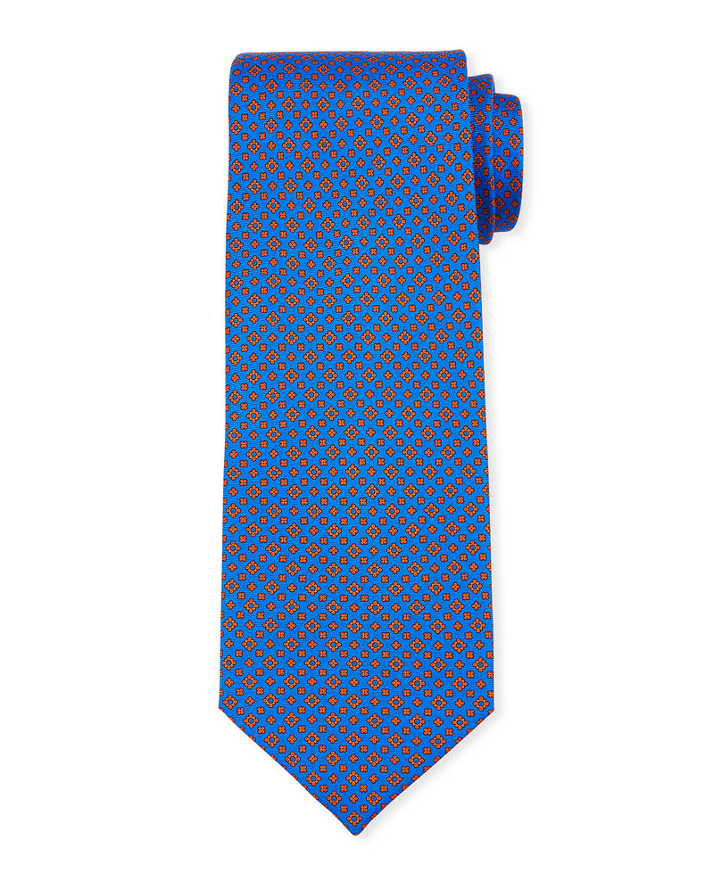 Stefano Ricci Men's Small Medallion Silk Tie