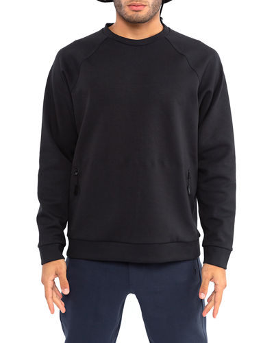 Men's Water-Repellant Crewneck Sweatshirt