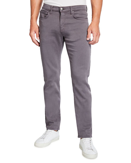 J Brand Kane Slim-Fit Luxe Terry Jeans, Keckley