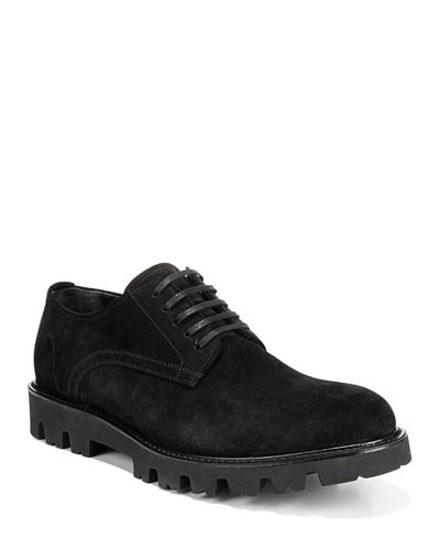 Men's Cadet Suede Lug-Sole Derby Shoes