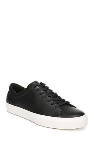 Vince Men's Farrell Smooth Leather Low-Top Sneakers