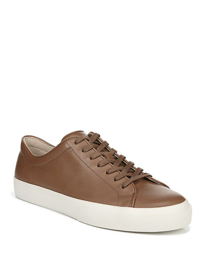 Men's Farrell Smooth Leather Low-Top Sneakers