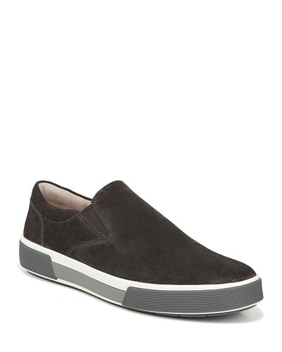 Men's Randell Perforated Suede Slip-On Sneakers