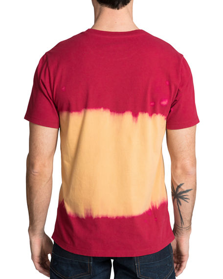 Image 2 of 2: PRPS Men's Tie-Dye Cherub T-Shirt