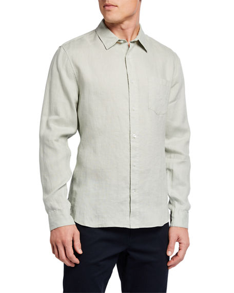 Vince Men's Long-Sleeve Sport Shirt